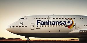 Aus Lufthansa wird Fanhansa