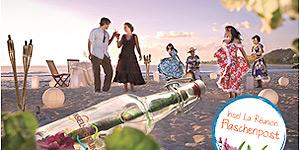 La Réunion: Mit Flaschenpost aus dem Paradies Luxusurlaub gewinnen