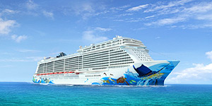 Die Norwegian Escape © Norwegian Cruise Line