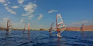 Windsurfen in Eilat © goisrael.de