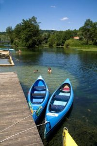 Kajaktour auf dem Mrežnica Fluss (c) Mario Hla-ìa