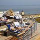 Dachterrasse mit Blick auf das Wattenmeer: Im neuen Cuxhavener Thalassozentrum ahoi (Foto: Nordseeheilbad Cuxhaven GmbH)