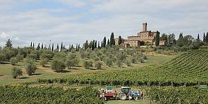 Hügellandschaft der Toskana © Brigitte Bonder