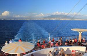 AIDABlu im Mittelmeer unterwegs © Thomas Sbikowski