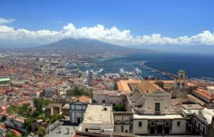 SantElmo - Neapel von oben © Thomas Sbikowski