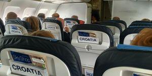 Croatia Airlines Sitzreihen 300