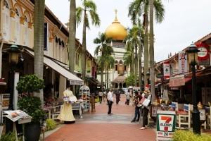Arabisches Veirtel in Singapur