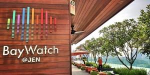 BayWatch@Jen mit Blick auf Marina Bay Sands