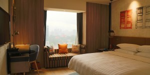 Deluxe Room im Hotel Jen Tanglin