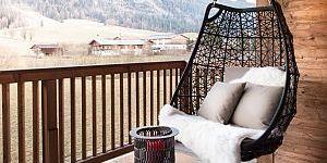 Relaxen mit Ausblick © Kitzbühel Lodge