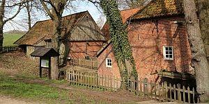 Wassermühle in Twente © Brigitte Bonder