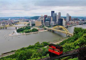 Blick auf die Innenstadt © Visit Pittsburgh