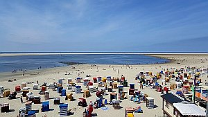 Borkums Strand © Brigitte Bonder