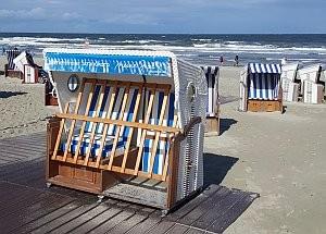 Barrierefreier Strandkorb © Brigitte Bonder