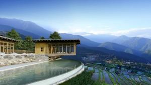 Resort in Bhutan © Six Senses