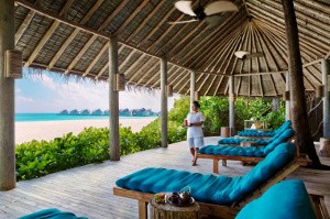 Spa auf Laamu, Malediven © Six Senses