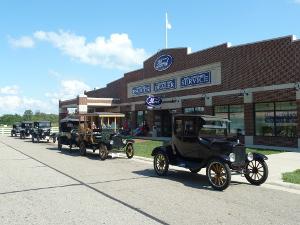 Ford Model T Fahrschule, Gilmore Car Museum © Andrea Bonder