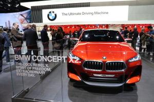 BMW auf der NAIAS 2017 © Andrea Bonder